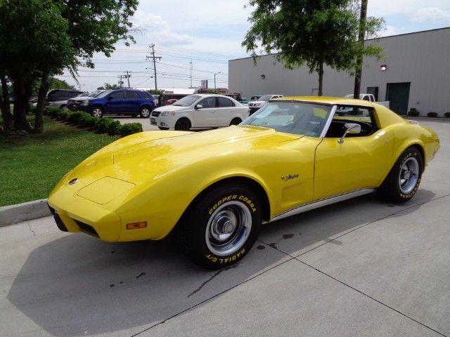 Used 1975 Chevrolet Corvette Stingray  for Sale in Norfolk VA 23518 Your Kar Company
