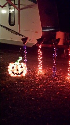 Halloween camping decorations