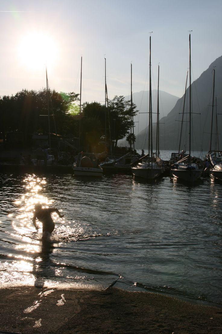lake lugano/camping darna