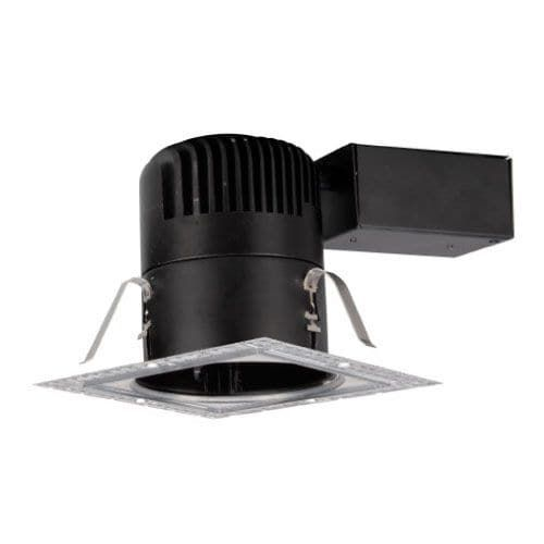 wac lighting hr led418 r sqw 4 trim 3000k high output led recessed - Led Spots In Der Dusche