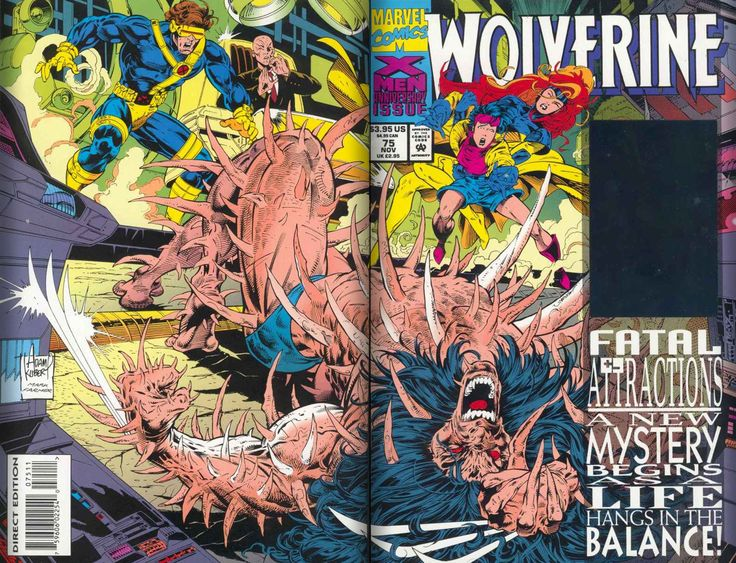 Where did that Happen?- Wolverine Bone Claws  Art by: Adam Kubert  Its in Wolverine Vol 2  issue 75 that we learn that Wolverine has always had his claws… there were just bones!