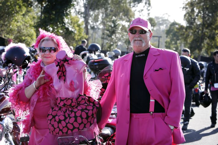 You can never have too much PiNK at Pink Ribbon Ride!
