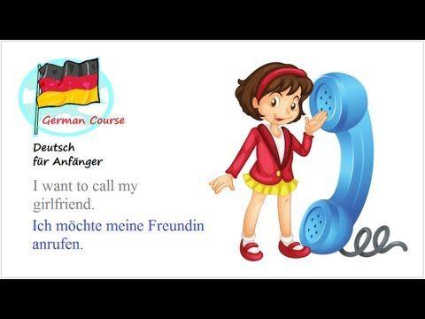 German Course [31] Telefonbuch   Deutsch für Anfänger - YouTube