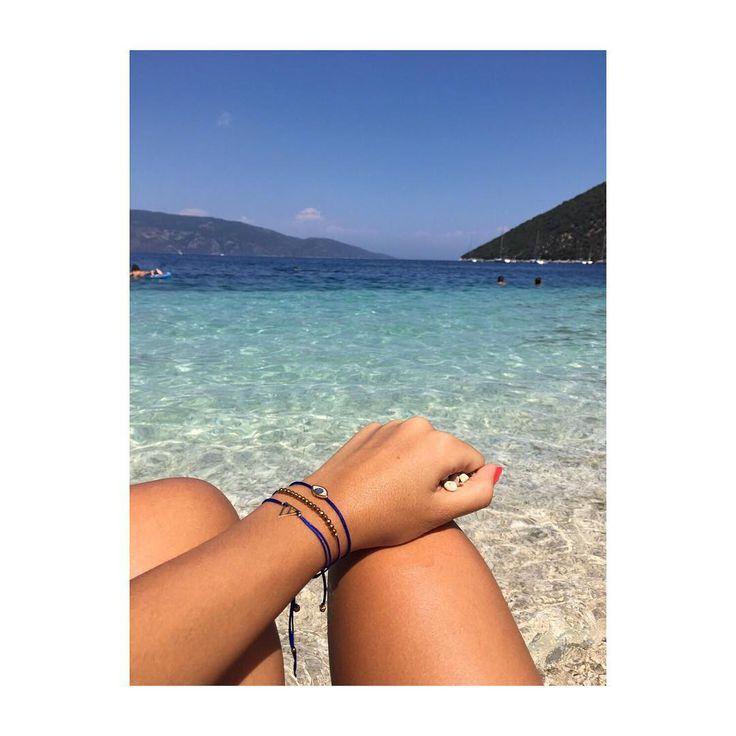 For us it's still su〽️〽️er ☀️ #lifelikes #charms #ftou #evil #eye #mixnmatch #chic #bracelets #musthave