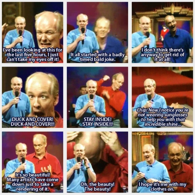 Colin Mochrie - Whose Line is it Anyway - the best green screen sketch