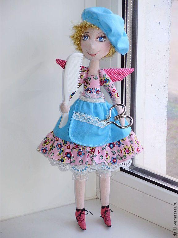 Купить Феечка. - кукла ручной работы, кукла в подарок, текстильная кукла, текстильная игрушка