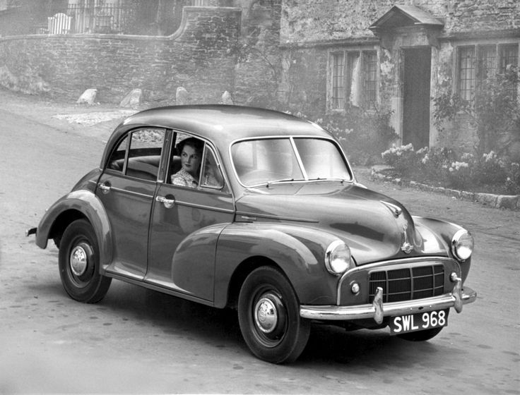 1953 Morris Minor Series II, with 803cc engine