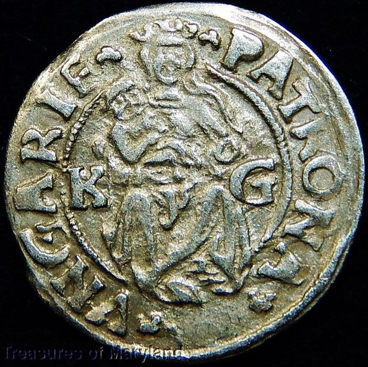 EXCELLENT! 1513 MARY HOLDING BABY JESUS HUNGARIAN DENAR sku #DN5