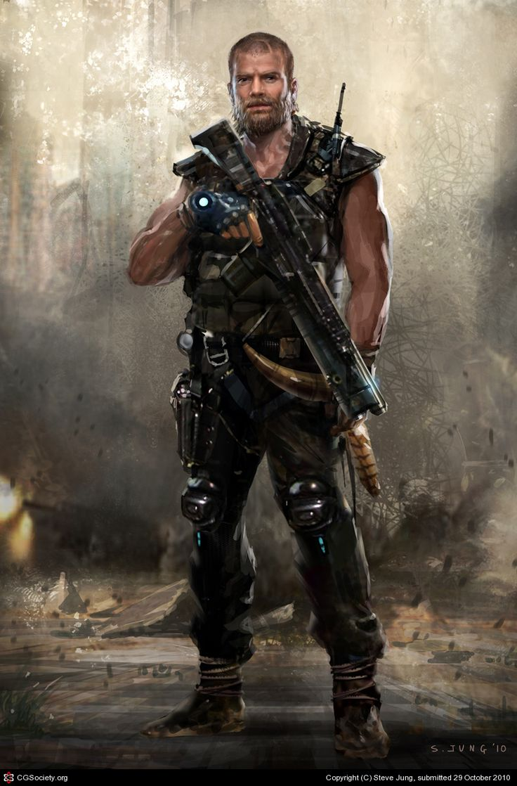 http://waza8i.cgsociety.org/art/character-photoshop-design-warrior-soldier-wasteland-2d-930940