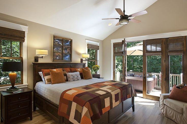 Craftsman Master Bedroom - Found on Zillow Digs