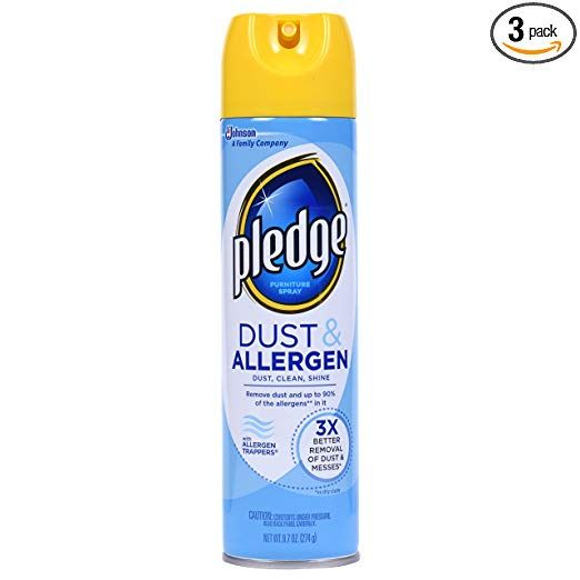Pledge Dust Allergen Furniture Spray Outdoor Fresh 9 70 Oz