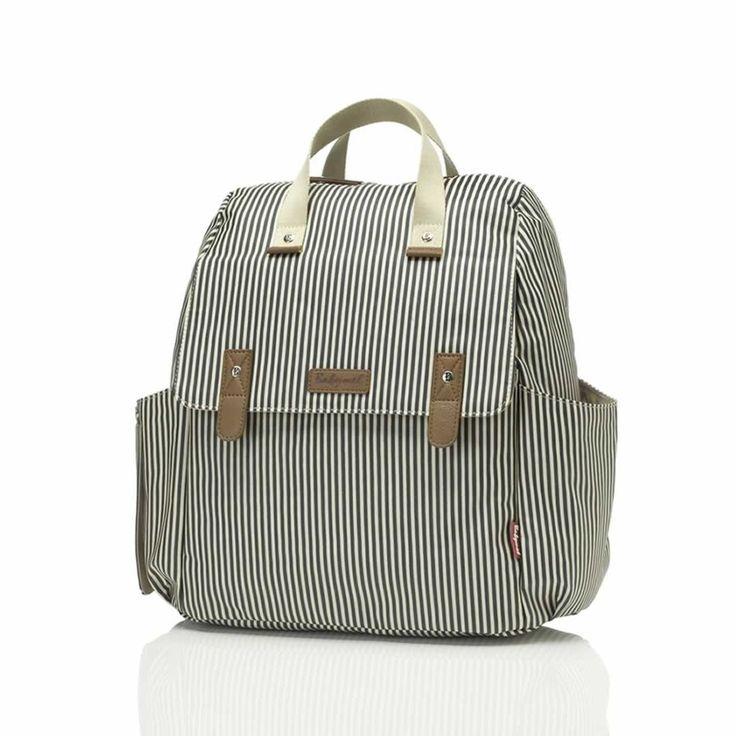Babymel Changing Bag - Robyn - Navy Stripe