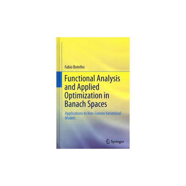 Functional Analysis and Applied Optimization in Banach Spaces (Hardcover)