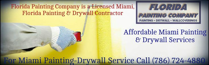 If you've been searching for a painting repair specialist in Miami, then Florida Painting provides the highest quality work at the most competitive pricing in the Miami, Florida. Our policies and standards are designed in order to provide prompt and professional service to our customers. See More Details:  https://floridapaintingmiami.com/