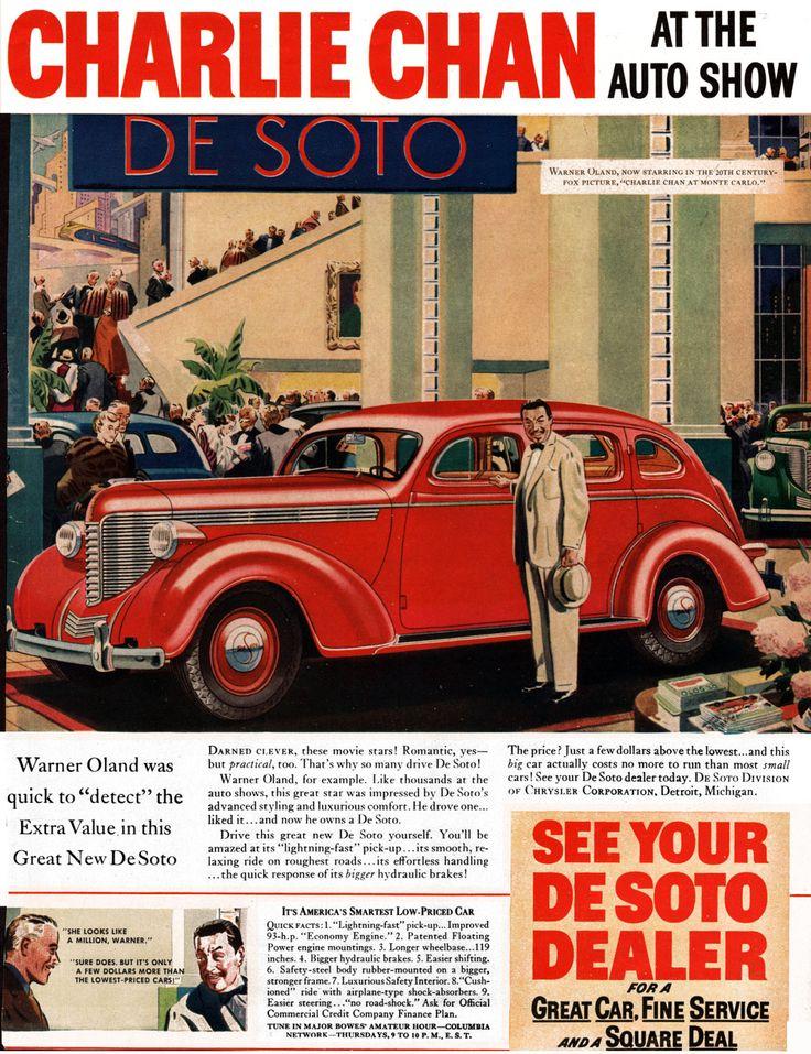 157 best Vintage Car Ads images on Pinterest   Car advertising ...