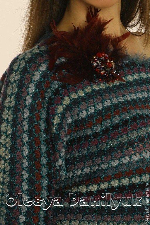 """туника""""Мозаика"""" - туника,авторская ручная работа,стильная одежда,модная модель"""