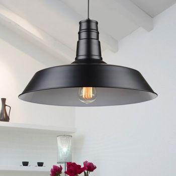 Coran Single Edison Bulb Metal Suspended Ceiling Light