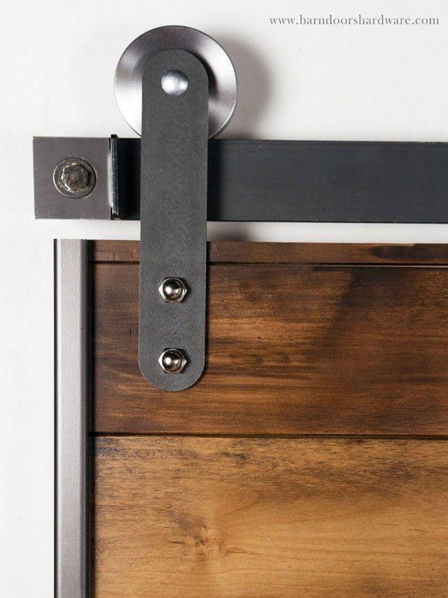 The 25 best barn door rollers ideas on pinterest barn for Sliding barn door rollers