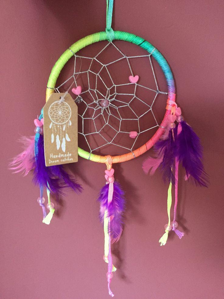 Handmade Multi Rainbow Dream Catcher - Spiritual Online Shop Psychic Lyndsay Delivered UK