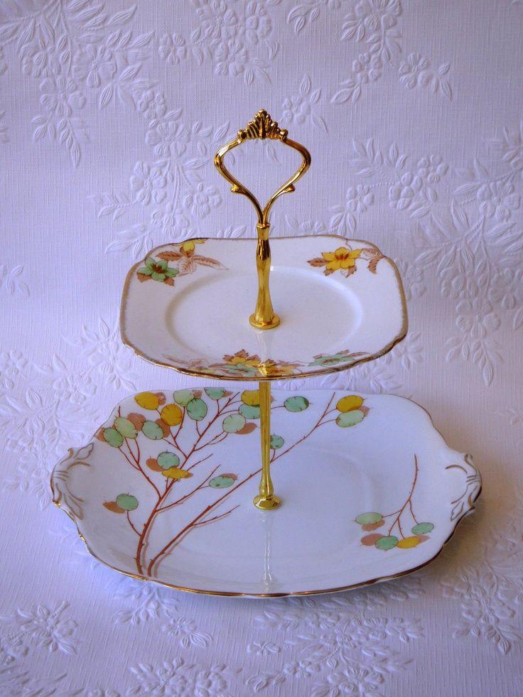 Alexandra Porcelain Cake Stand