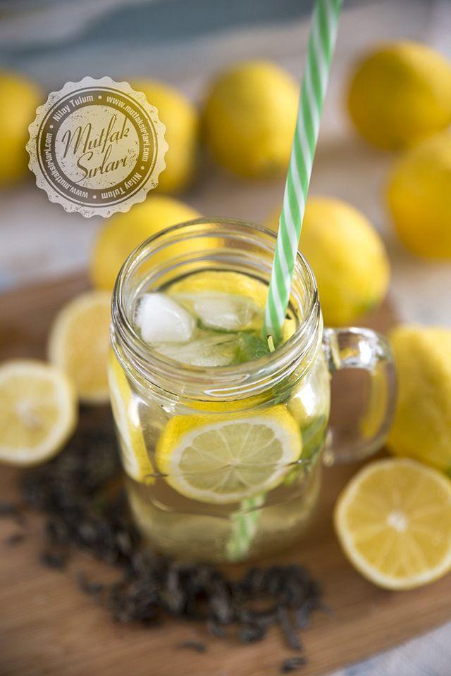 Naneli Limonlu Buzlu Yeşil Çay