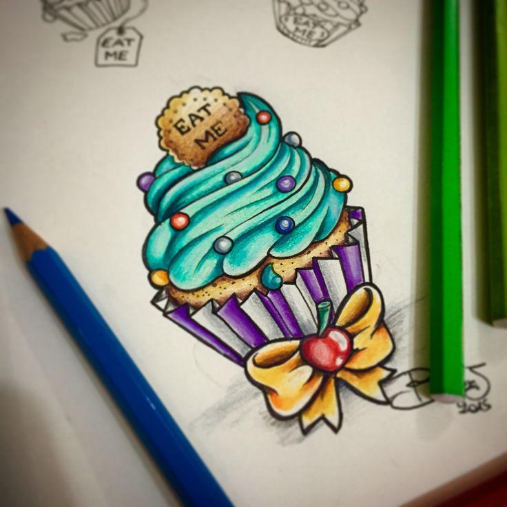 Sweet tattoo...alice in wonderland inspiration..                                                                                                                                                                                 Mehr