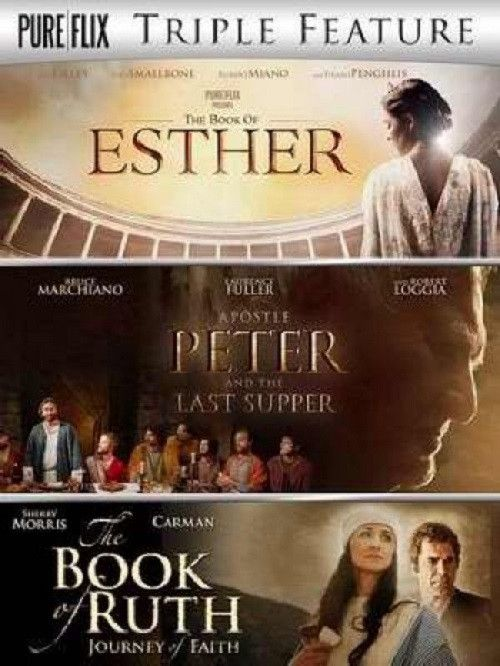 BIBLICAL TRIPLE FEATURE - Book of Esther / Peter / Ruth - DVD