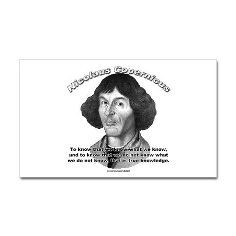 Nicolaus Copernicus 01 Rectangle Sticker