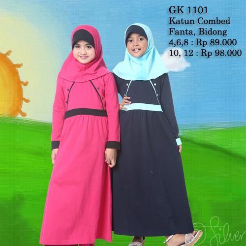 Rahnem Longdress Gamis Anak GK - 1101