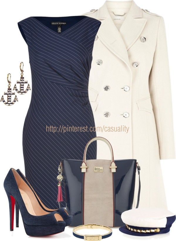 """""""Proud Sailor's Wife"""" by casuality on Polyvore"""