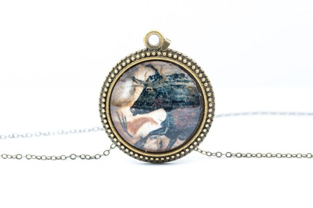 Bull Necklace [Cave Art Collection]