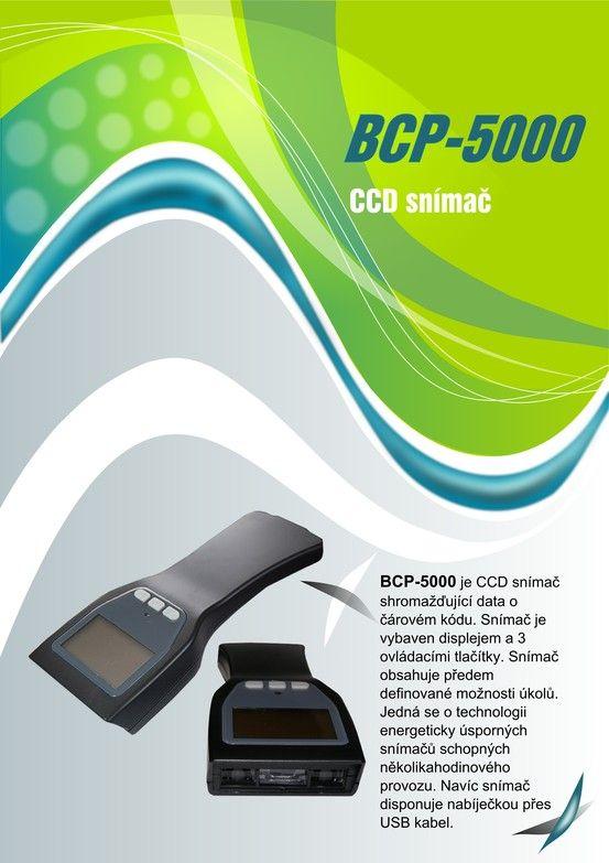 CCD snímač BCP 5000 strana 1 CCD scanner BCP 5000 page Nr. 1
