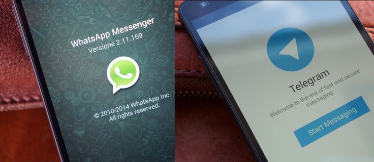 telegram whatsapp diferencias