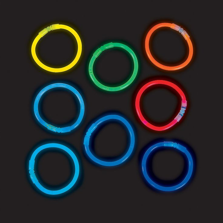 Premium Glow Bracelet Assortment - OrientalTrading.com