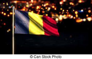 Bandera de Rumania.