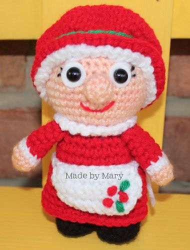 Ravelry: Mrs. Claus Christmas Mini pattern by Mary Smith