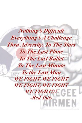 Red tails quote