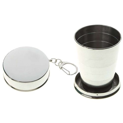 Sammenleggbar kopp i aluminium