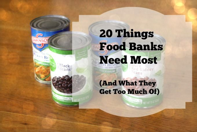 IS THERE A FOOD DRIVE GOING ON NEAR YOU? Hope it's okay to share here, but this is an awesome list, and I wanted to get it out there. No better way to serve God than to help those in need.
