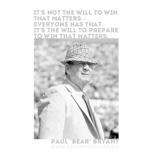 #paulbryant #sports  #quotes  #sportsquotes
