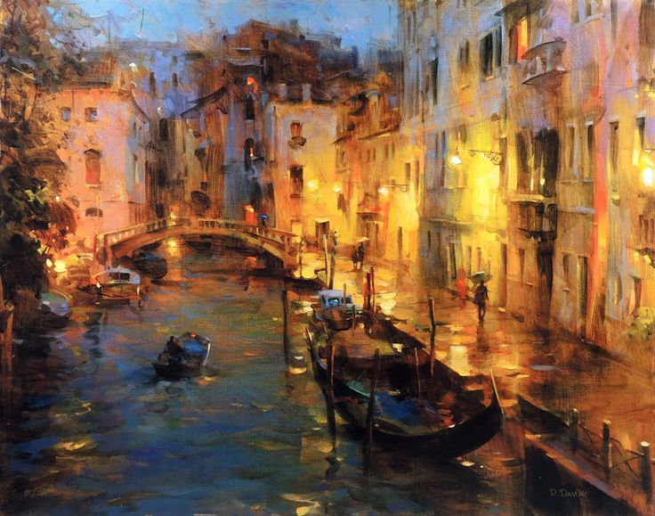 Dmitri Danish Drizzle in Venice. For more information about the Danish collection, please visit our website siennafineart.com or call 305.600.4484