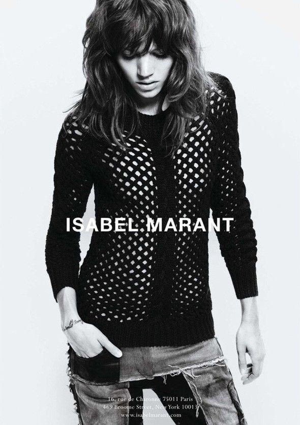 Кампания: Фрея Беха Эриксен для Isabel Marant FW 2011 — Look At Me