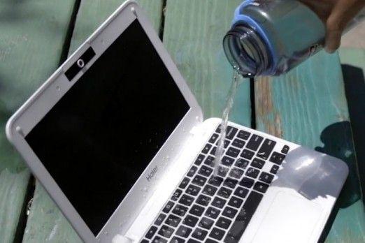 Ce sa faci daca ai varsat apa pe laptop