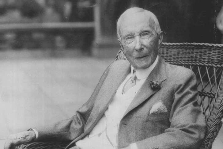 10 richest people of all time John D. Rockefeller Sr.