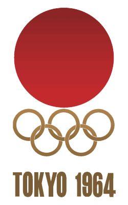 Tokyo Olympics Logo, 1964