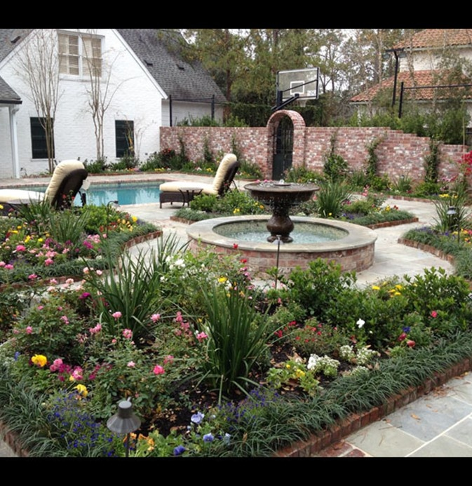 Garden Decor Houston: 70 Best Landscape And Exterior Ideas For French Country