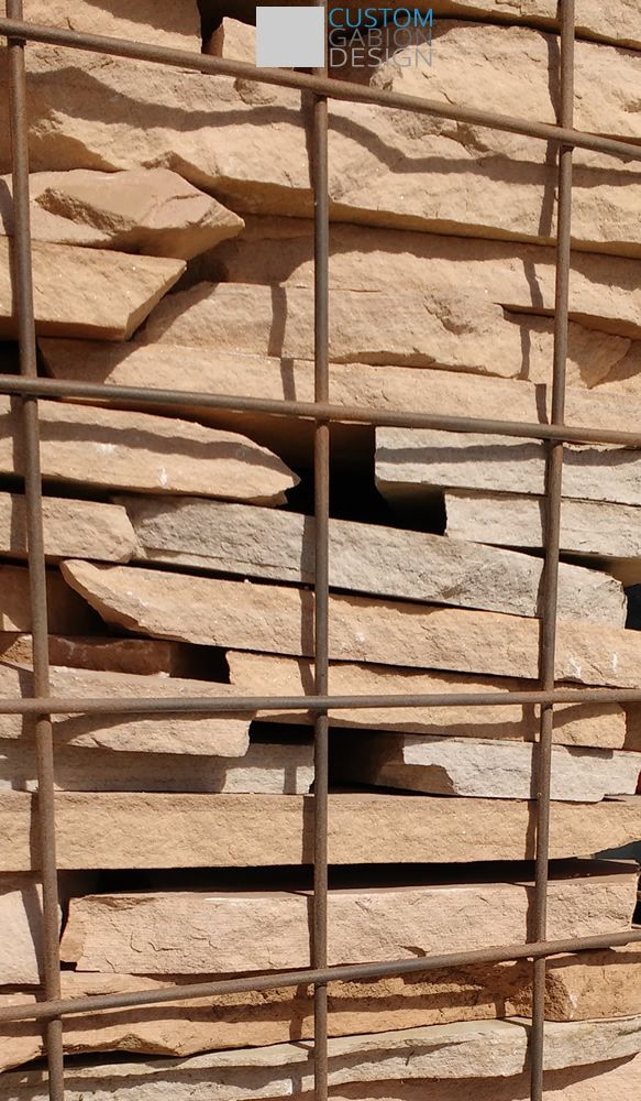 47 best gabion images on pinterest gabion wall rock for Gabions phoenix