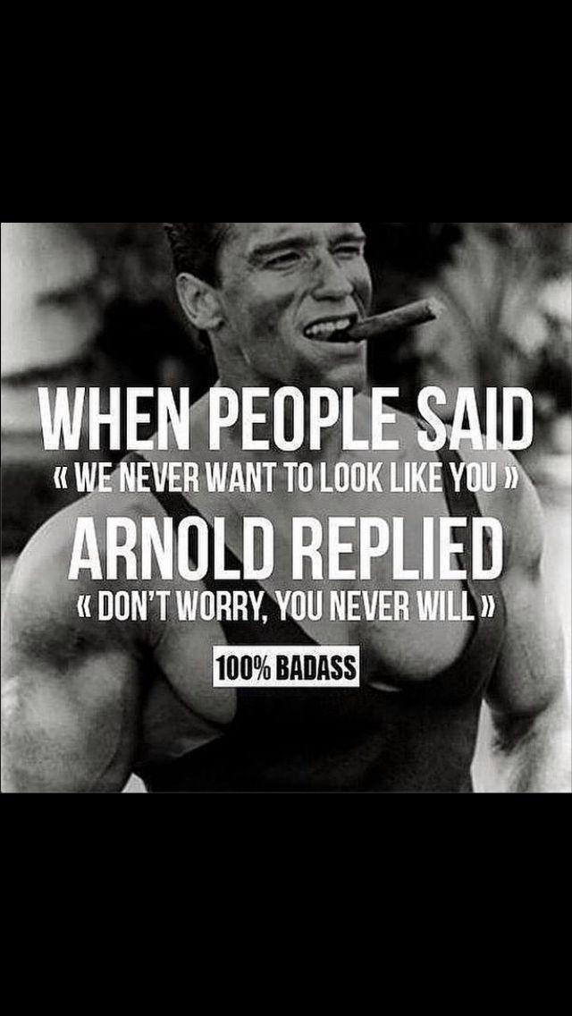 God bless Arnie