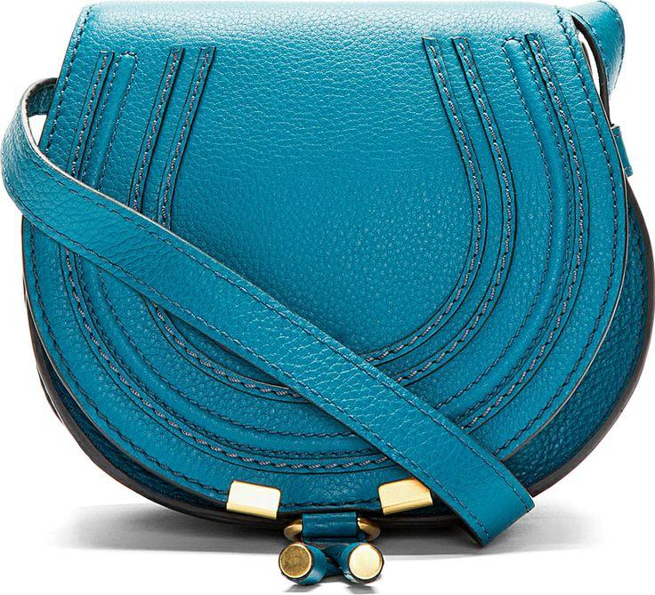 Grey Small Marcie Saddle Bag | Chloe Bag, Messenger Bags and Chloe