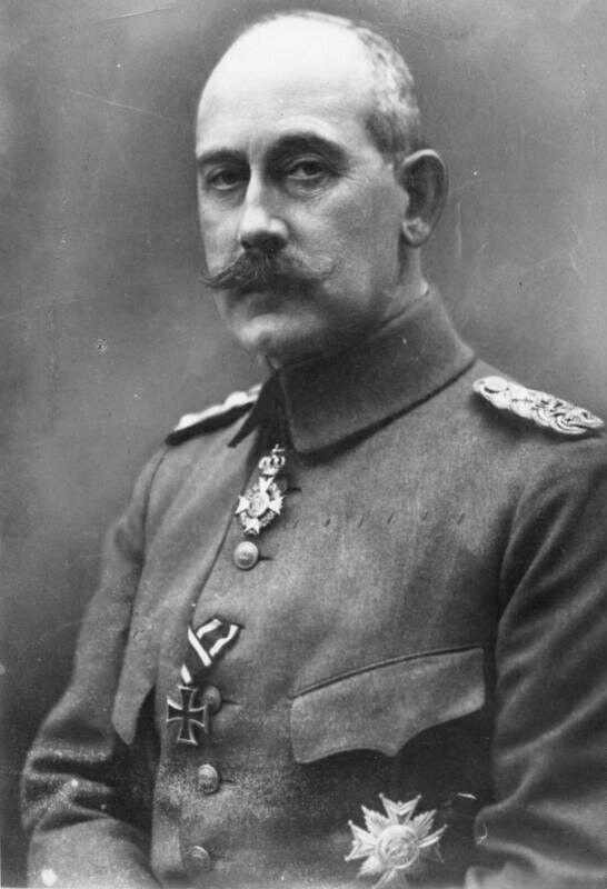 Max von Baden,  letzter Reichskanzler des Deutschen Reichs